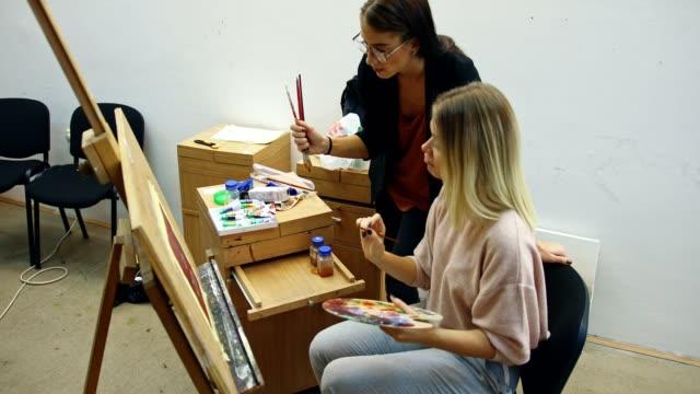Art Class Students