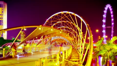 art crosswalk. - bridge built structure stock videos & royalty-free footage