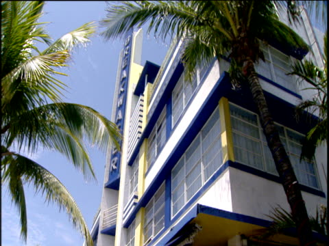 Art Deco detail on buildings Miami