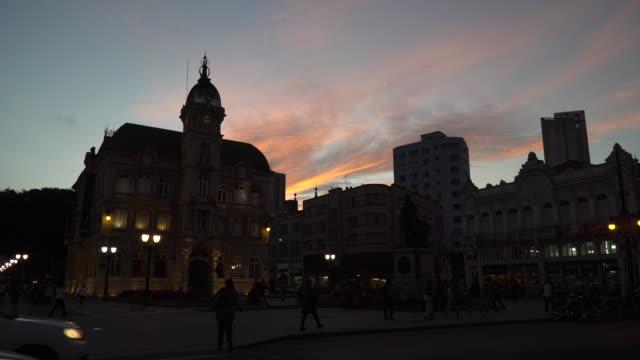 art museum, paço da liberdade, curitiba, brazil - liberdade 個影片檔及 b 捲影像