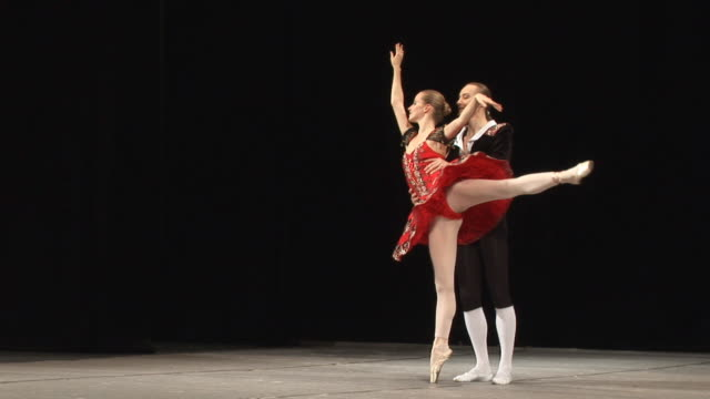 art of ballet - dance music stock videos & royalty-free footage