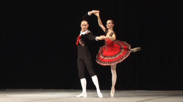 art of ballet - ballet dancing stock videos & royalty-free footage