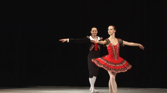 art of ballet - ballet performance stock videos & royalty-free footage
