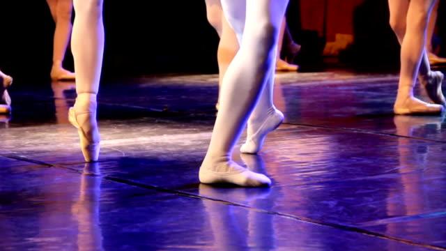 vídeos y material grabado en eventos de stock de arte de ballet - ballet shoe