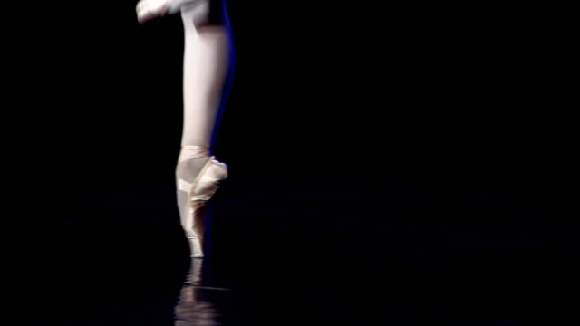 art of ballet - ballet shoe stock videos and b-roll footage