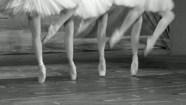 art of ballet - ballet dancer stock videos and b-roll footage
