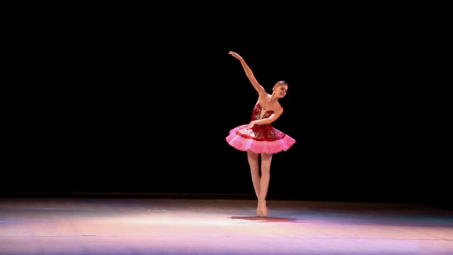art des ballett - ballerina stock-videos und b-roll-filmmaterial