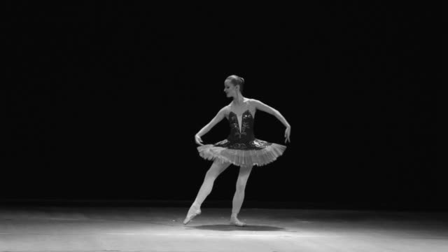 art of classical ballet - ballet dancer stock videos & royalty-free footage