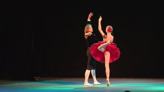 art of russian ballet - performing arts event stock videos and b-roll footage