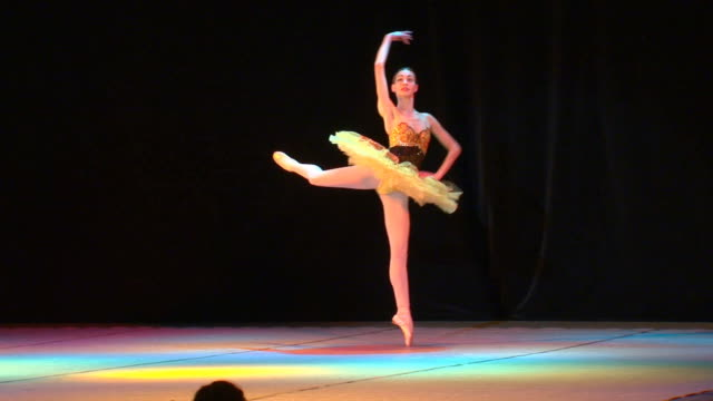 art of russian ballet - ballet dancing stock videos & royalty-free footage