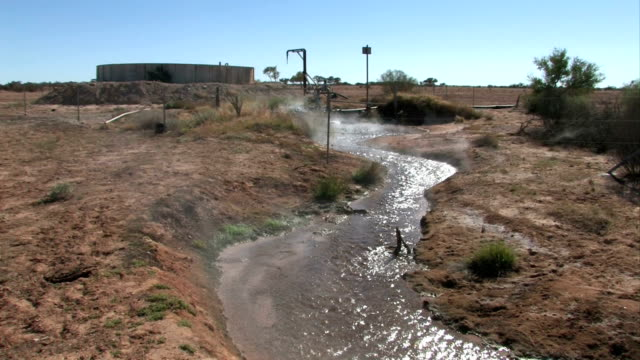 artesian bore - well structure stock videos and b-roll footage