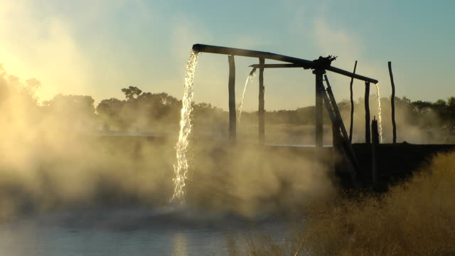 artesian bore - groundwater stock videos and b-roll footage