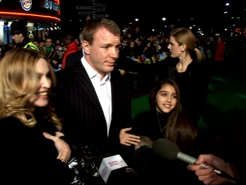 'Arthur and the Invisibles' premiere Red carpet interviews **BEWARE Madonna speaking to press On her role playing 'Princess Selenia' / On hopes for...