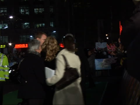 'Arthur and the Invisibles' premiere Red carpet interviews **SOME Madonna along on red carpet with Guy Ritchie and Lourdes Ciccone and Rocco Ritchie...