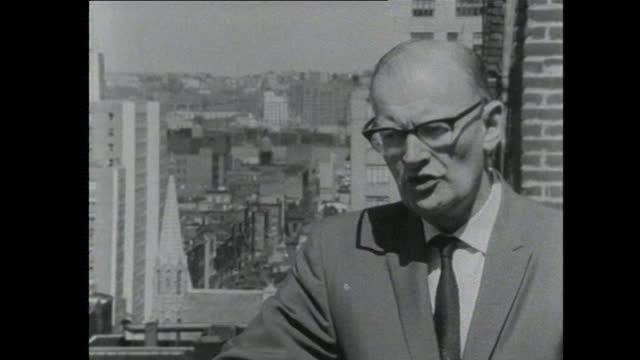 arthur c. clarke talks about the development of computers and artificial intelligence saying that it may be more intelligent than humans are. - computer stock videos & royalty-free footage