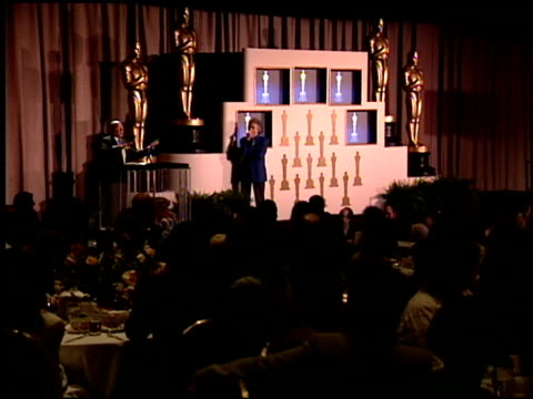 arthur hiller at the 1995 academy awards luncheon at the beverly hilton in beverly hills, california on march 14, 1995. - arthur hiller stock videos & royalty-free footage