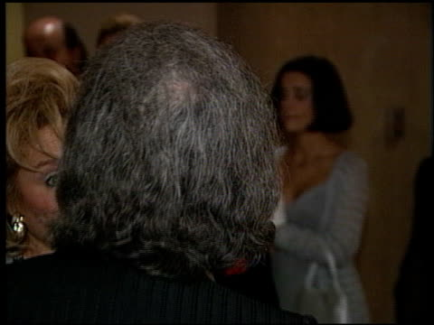 arthur hiller at the artist rights foundation arrivals at the beverly hilton in beverly hills, california on april 17, 1998. - arthur hiller stock videos & royalty-free footage