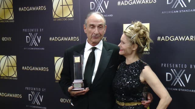 arthur max at art directors guild 20th annual excellence in production design awards at the beverly hilton hotel on january 31, 2016 in beverly... - the beverly hilton hotel stock videos & royalty-free footage