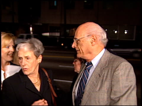 arthur miller at the premiere of 'the crucible' at samuel goldwyn theater in beverly hills california on november 20 1996 - samuel goldwyn theater stock videos & royalty-free footage