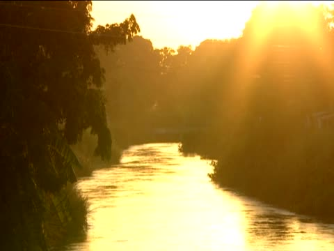 artibonite river at sunset suspected as being the source of the cholera outbreak - vibrio stock videos & royalty-free footage