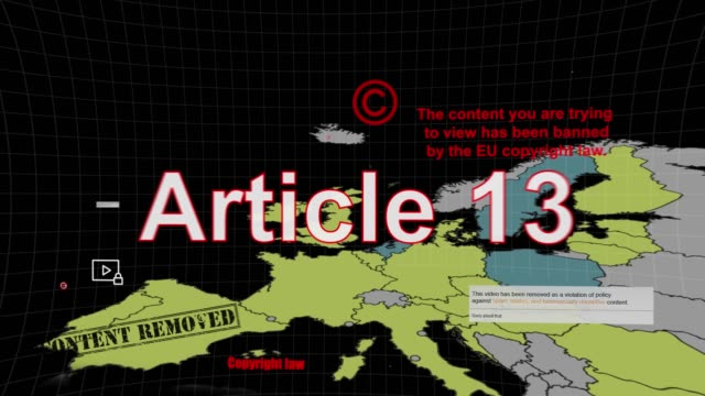 article 13 copyright europe - censorship stock videos & royalty-free footage