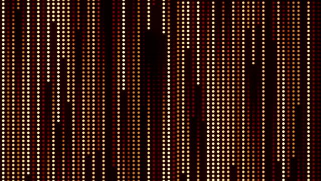 縦に動く人工的な抽象的な円 - 位置点の映像素材/bロール