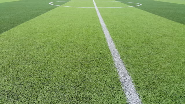artificial grass football field in Mae Hia,Chiang Mai,Thailand