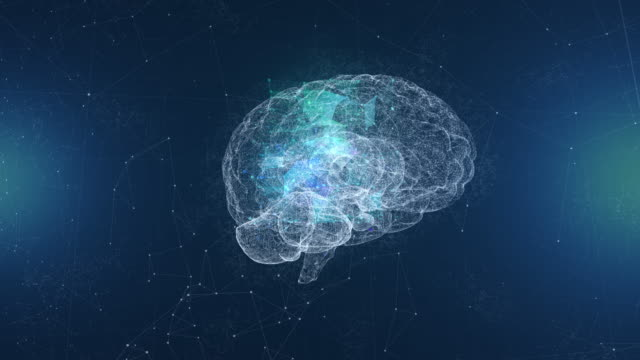 artificial intelligence brain - activity stock videos & royalty-free footage