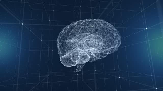 künstliche intelligenz gehirn - human brain stock-videos und b-roll-filmmaterial