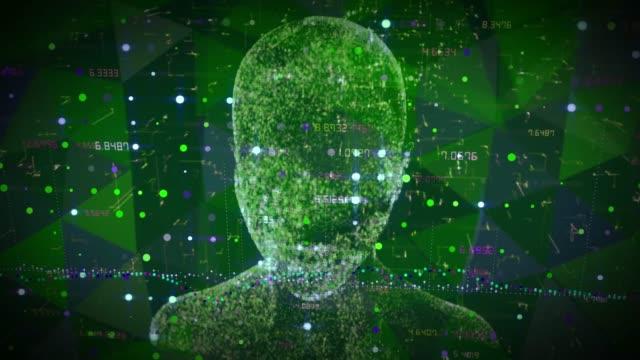 künstliche intelligenz klone blockchain - fuel and power generation stock-videos und b-roll-filmmaterial