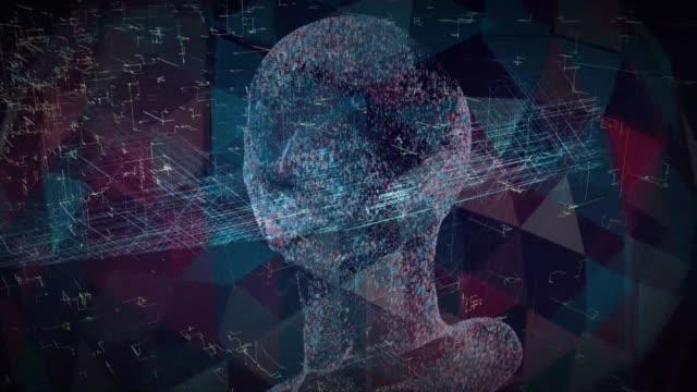 artificial intelligence clone blockchain - data mining stock videos & royalty-free footage