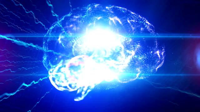 künstliche intelligenz klon blockchain - schaltkreis stock-videos und b-roll-filmmaterial