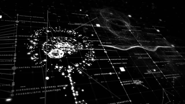 artificial intelligence tecno grid - philosophy stock videos & royalty-free footage
