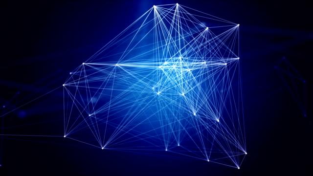 人工知能 - 拡大イメージ点の映像素材/bロール