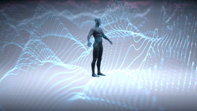 artificial intelligence - biomedical animation video stock e b–roll