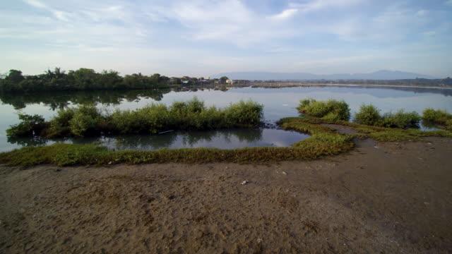 Artificial lake in lhokseumawe aceh