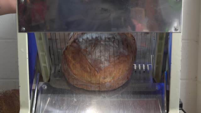 artisanal bakery - loaf of bread stock videos and b-roll footage