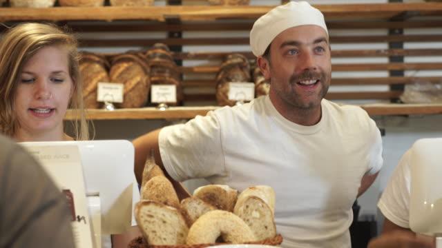 vidéos et rushes de artisanal bakery - client