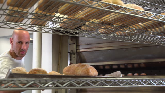 artisanal bakery - frische stock-videos und b-roll-filmmaterial