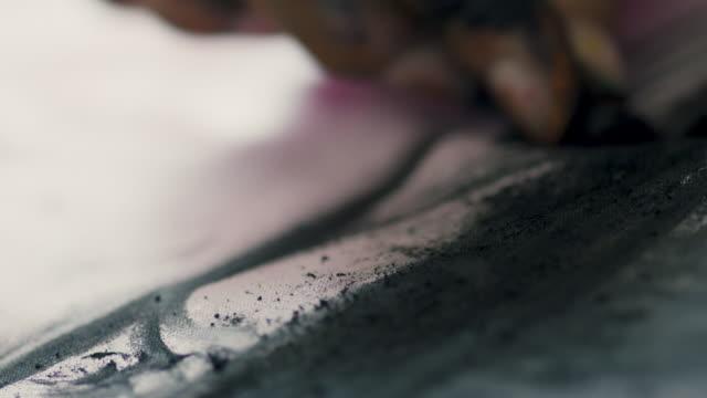 artist drawing - creativity stock videos & royalty-free footage