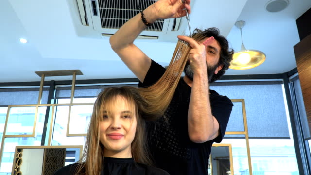 Artistic Hair Cutting