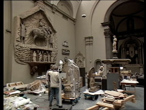 victoria and albert museum india gallery london victoria and albert museum intvw sof very little indeed 2 shot 12 million pounds tms worker doing... - victoria and albert museum london stock videos & royalty-free footage