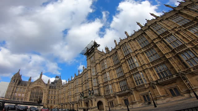 arty exteriors houses of parliament - clock tower stock videos & royalty-free footage