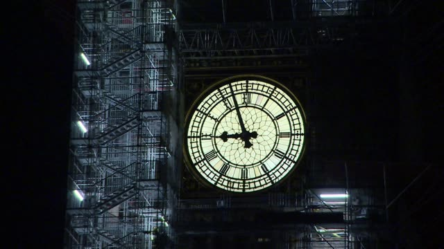 arty night shots of exterior of houses of parliament and big ben - parliament stock videos & royalty-free footage