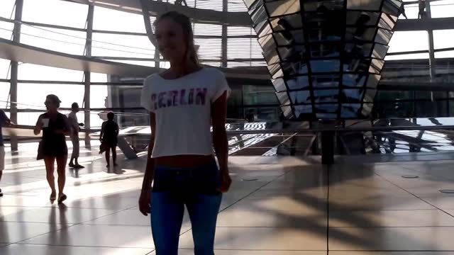 as a follow-up to their https://www.youtube.com/watch?v=i5y_kngfn10 original video, which was shot in hong kong, the pantless model has now reached... - https stock videos & royalty-free footage