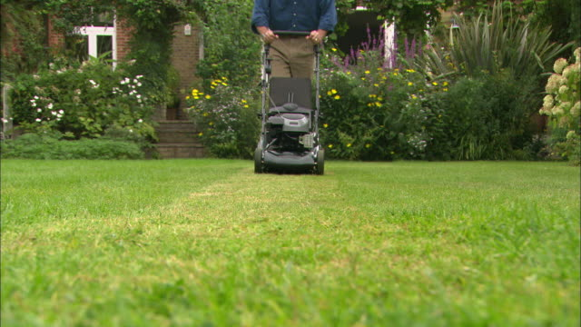 la ws as above frontal view - lawn mower stock videos and b-roll footage