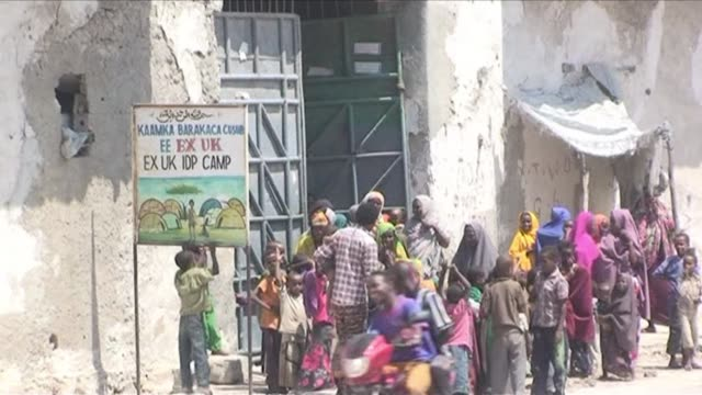 as britain prepares to open a new embassy in the somali capital of mogadishu afptv takes a look at the uks former embassy which is now home to... - now open stock videos & royalty-free footage