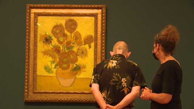 NLD: Van Gogh museum opens to visitors after 171 days of closure