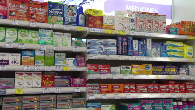 as figures show consumers in the uk are spending more on painkillers than ever before a sky news investigation reveals branded pills that claim to... - painkiller stock videos & royalty-free footage