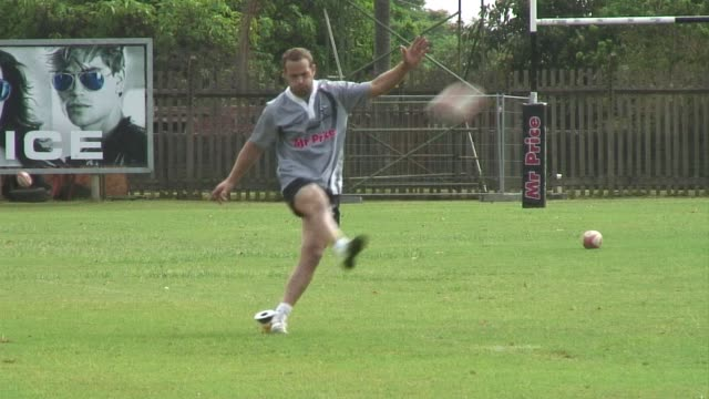 as france face wales in the rugby world cup semifinal this saturday one former french player will be keeping an eye on the game from south africa... - former stock videos & royalty-free footage